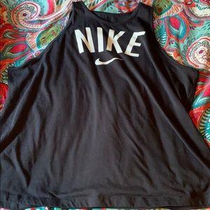 Black Nike dri fit tank top